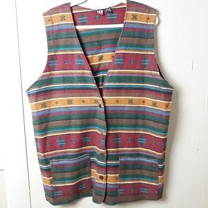 ☀️free item w/ your purchase southwestern vest